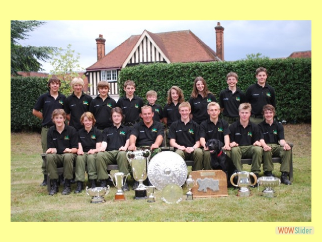 Gresham's School Ashburton Shield winning squad, Bisley 2009.
