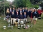 Norfolk Fullbore Target Rifle Shooters with trophies won at the Imperial Rifle Meeting at Bisley, 2013.