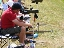 The Norfolk short range team in action, Bisley 2008.